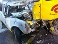 На Львівщині не розминулися маршрутка та «Жигулі»: травмовано трьох осіб