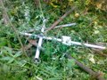 У Жидачеві безбожники здали хрести з цвинтаря на металобрухт