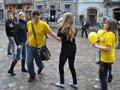 У Львові відбувся першоквітневий шлеш-моб