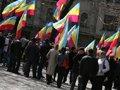 Львівська «Батьківщина» залишила подарунок Януковичу у кабінеті губернатора