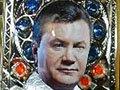 У Луганську художник написав ікону Св. Януковича