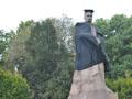 Пам'ятник Франкові у Львові одягнули у мантію
