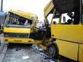 У Львові зіткнулися маршрутки: постраждали 12 людей