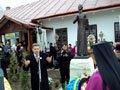 В селі Новосілки відкрили пам'ятник Маркіяну Шашкевичу