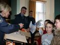 Співробітники ДАІ передали учням шкіл-інтернатів Львівщини подарунки від Святого Миколая