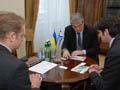 Садовий зустрівся з Надзвичайним і Повноважним Послом Ізраїлю
