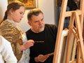 У галереї «Леміш» художник Борис Буряк для дітей провів майстер-клас