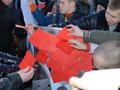 Молодь Львівщини показала Януковичу червону картку