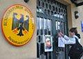У Львові під німецьким консульством вшанували пам'ять Івана Дем'янюка