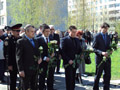 У Львові поклали квіти до пам'ятника героям і жертвам Чорнобиля
