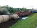 У Львівській області з рейок зійшли 10 вагонів