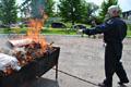 Міліція спалила 315 кг наркотиків зібраних зі всієї Львівщини