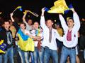 У Львові перемогу України святкували до ранку