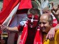 Львів'яни закохалися у фанатів і не хочуть щоб ті їхали додому