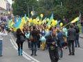 В підтримку національної збірної відбувся парад «Україно! Львів з тобою!»