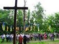 Опозиція Львівщини помолилася за жертв Другої світової війни