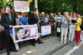У Львові протестували проти розколу України законопроектом Колесніченка-Ківалова