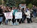 У Львові відбулася студентська акція «Нас дістали – ми повстали!»