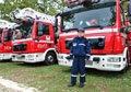 Костюк вручив ключі від сучасних аварійно-рятувальних автомобілів рятувальникам Львівщини