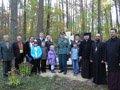 На місці героїчного бою УПА в селі Гримайлівці освятили пам'ятник
